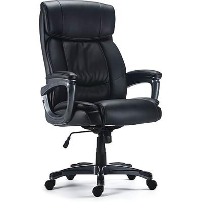 Staples Lockland Bonded Leather Big & Tall Managers Chair