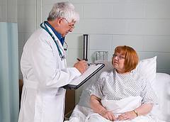 bed ridden patient