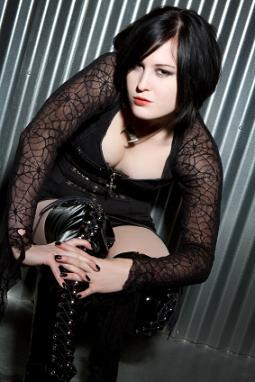 Goth Plus Size Woman