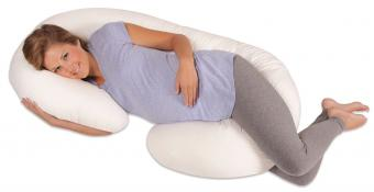 Leachco Snoogle Total Body Pregnancy Support and Feeding Pillow