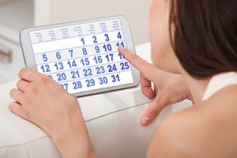 Track your menstrual cycle
