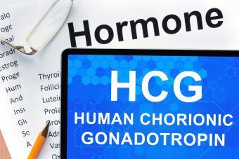 Human chorionic gonadotropin (HCG)