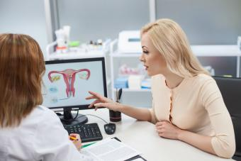 Consulting with gynecologist