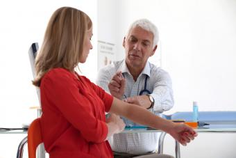 Gynecology consultation about contraception