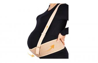 Aigori Maternity Support Belt with Shoulder Straps