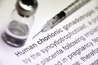 Human chorionic gonadotropin injection