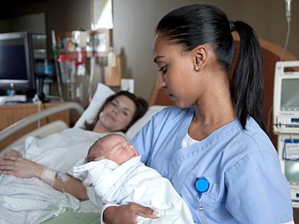 newborn at birth