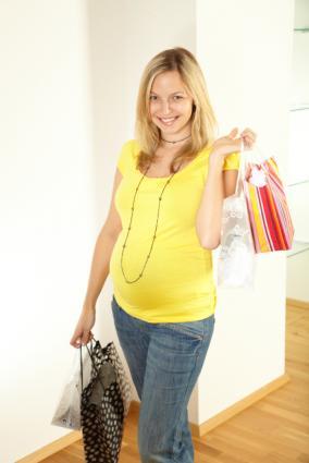 maternity shopping