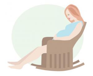 Pregnancy clip art 5