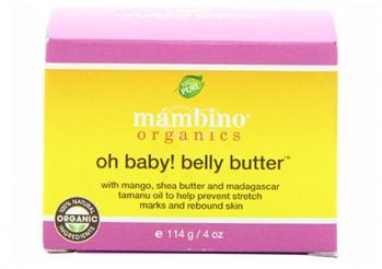 Mambino Organics Oh Baby! Belly Butter