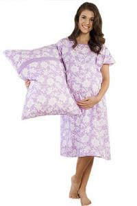 Baby Be Mine Helen Gownie Hospital Gown with Pillowcase
