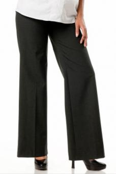 Secret Fit Belly® Bi-stretch Suiting Wide Leg Maternity Pants