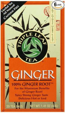 Triple Leaf Ginger Tea