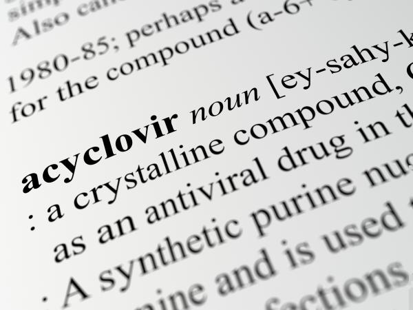 Acyclovir medical text