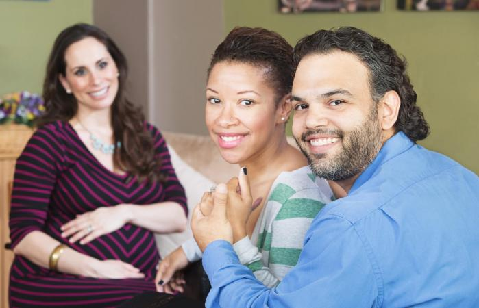 Couple with Surrogate Mother