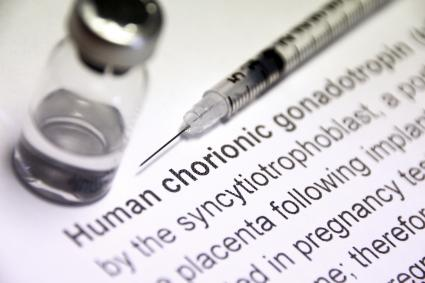Human chorionic gonadotropin injection