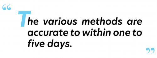 various methods.
