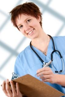 Functional maternity scrubs for medical professionals