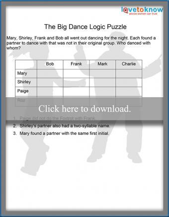 The Big Dance Logic Puzzle thumbnail