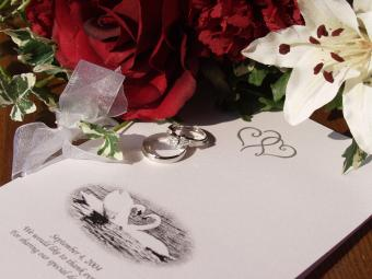 Free Traditional Wedding Program Template