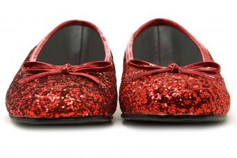 Ruby Slippers Coloring Pages