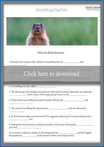 Groundhog Day Questions and Answers
