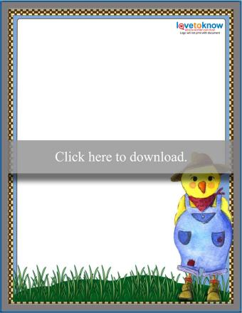 Chicken Stationery Thumbnail