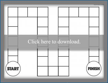printable board game blank 3