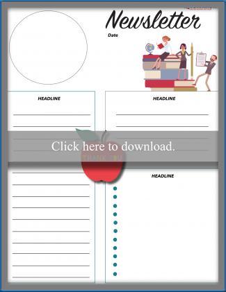 Teacher Newsletter Template