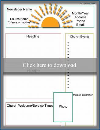 Monthly Church Newsletter