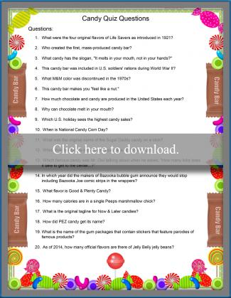 graphic regarding Printable Personality Quiz With Answers identify Printable Entertaining Trivia Issues LoveToKnow