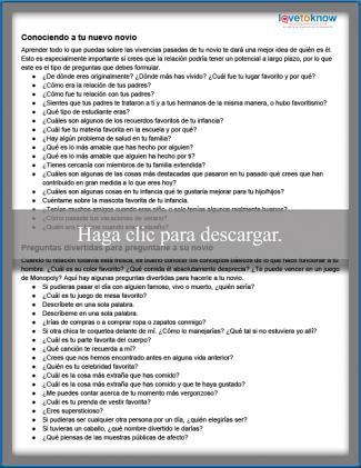 136 Preguntas Para Conocer Mejor A Tu Novio O Pareja Lovetoknow