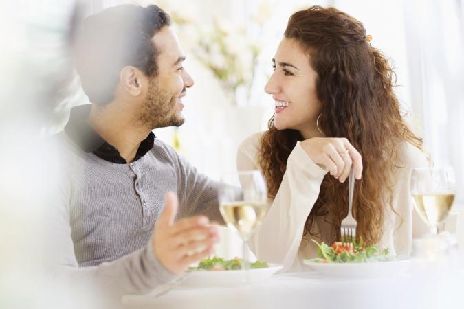Una cita romántica y divertida