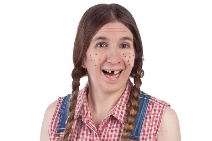 Una mujer menos atractiva