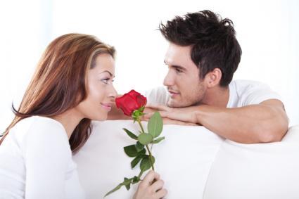 Pareja romantica