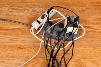 Overloaded Electrical Outlet
