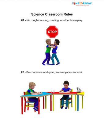 science safety poster