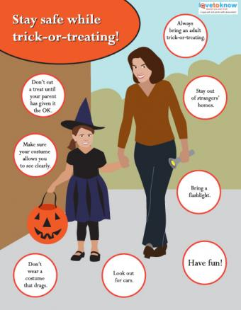Halloween Safety Poster