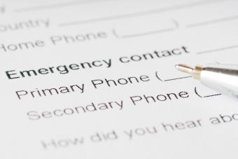 Printable Emergency Phone List