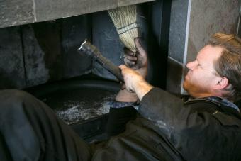 clean and inspect the chimney