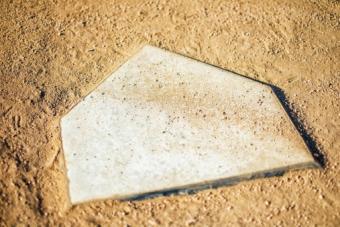 Baseball base plate