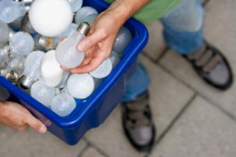 light bulbs for recycling