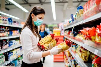 Shopping during the pandemic quarantine