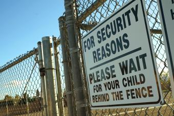 School security sign