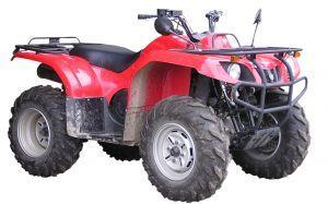 Red ATV