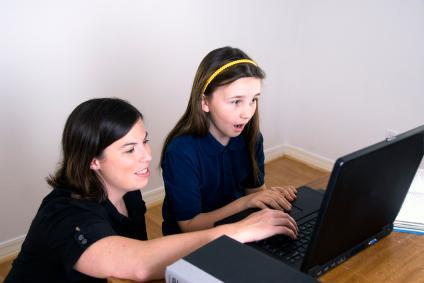Teaching children to be Internet savvy.