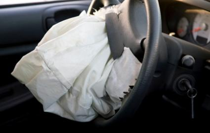 air bag in car