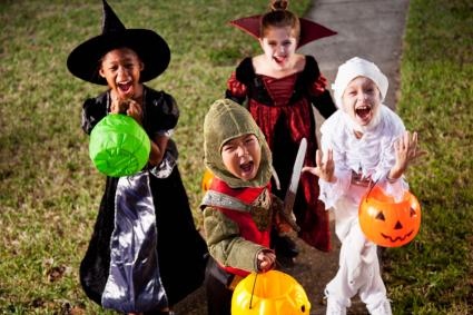 kids trick or treat