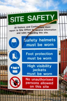 Job Site Safety Posters