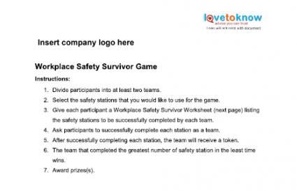 Safety Games for the Workplace | LoveToKnow